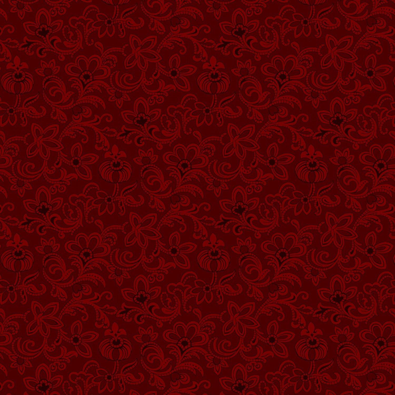 Bess' Flower Garden - Bess' Red Dress