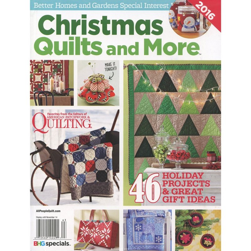 Christmas Quilts and More 2016