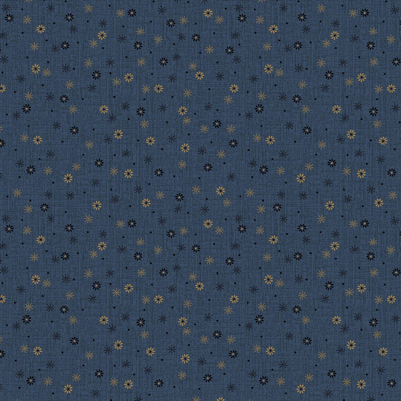 Bess' Flower Garden - Blue Snowfall