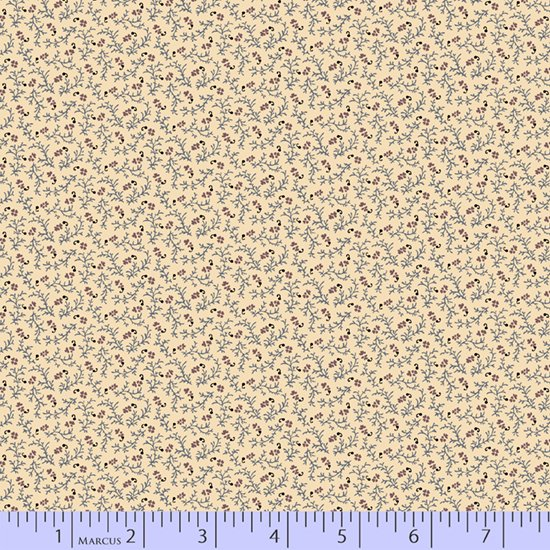 Plumberry Cream Fat Quarters