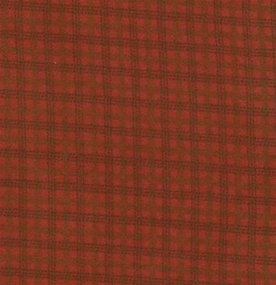 Wool & Needle Flannels - Window Pane Barn Red