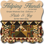 Helping Hands Quilt Fabric by Kim Diehl