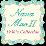 Nana Mae II - 1930's Reproduction Prints by Henry Glass Fabrics