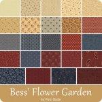 Bess' Flower Garden by Pam Buda at WashTub Quilts