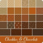 Cheddar & Chocolate by Pam Buda at WashTub Quilts