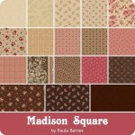 Madison Square by Paula Barnes at WashTub Quilts