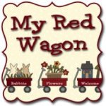 My Red Wagon by Debbie Busby at WashTub Quilts