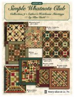 Simple Whatnots Club 9 at WashTub Quilts