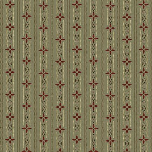 Esther's Heirloom Shirtings - Aqua Wallpaper Stripe