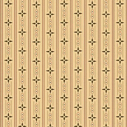 Esther's Heirloom Shirtings - Cream Wallpaper Stripes