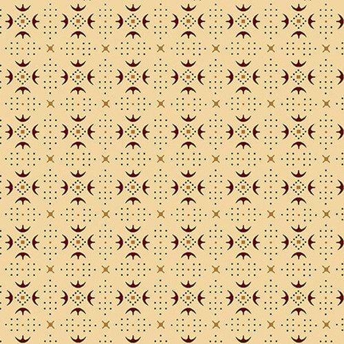 Esther's Heirloom Shirtings - Cream Turkey Tracks