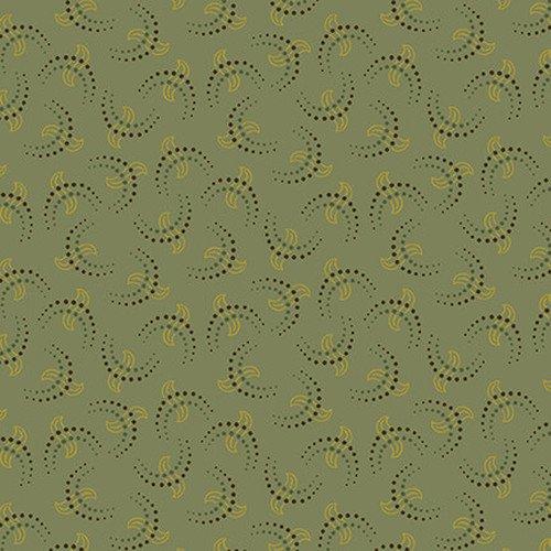 Esther's Heirloom Shirtings - Aqua Crescents