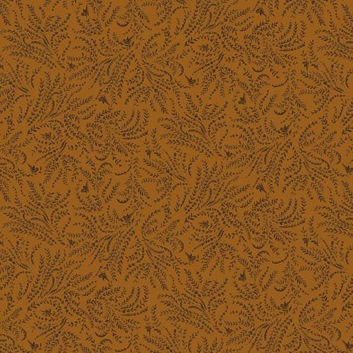Esther's Heirloom Shirtings - Orange Toile