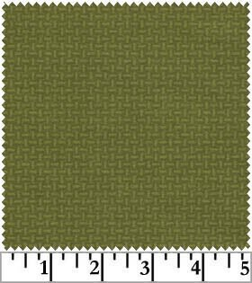 Woolies Flannel - Light Green Basketweave