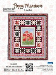 Poppy Meadows free quilt pattern