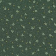 Starry Nights - Green Stars