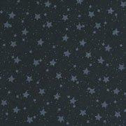 Starry Nights - Blue Stars  (1 3/8 yards)