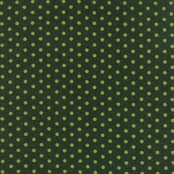 Be Jolly - Pine Green Polka Dots (1 7/8 yard)