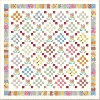 Aunt Grace Flower Quilt by Judie Rothermel