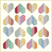 Sew Charming Heart Quilt by Judie Rothermel