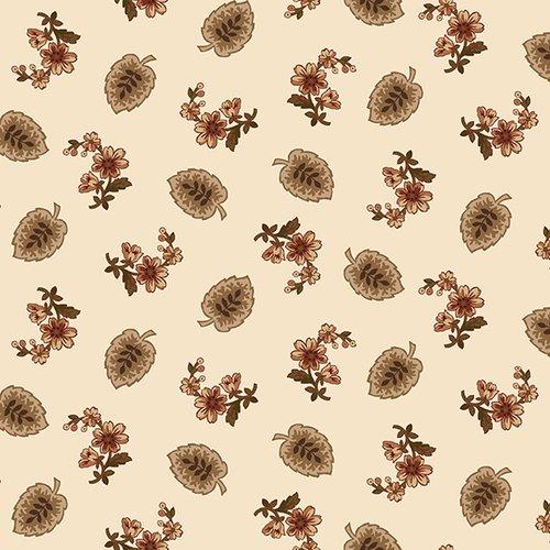 Buttermilk Blossoms - Cream Leaf & Spray