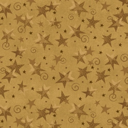 Itty Bitty Crazy - Gold Stars