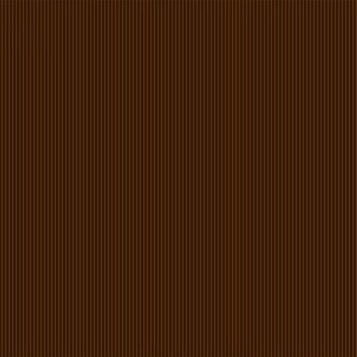 Itty Bitty Crazy - Brown Pinstripe