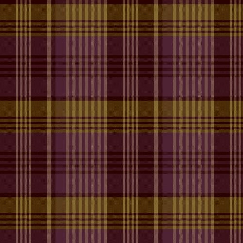 Itty Bitty Crazy - Purple Large Plaid