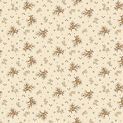 Buttermilk Autumn  - Cream Mini Floral