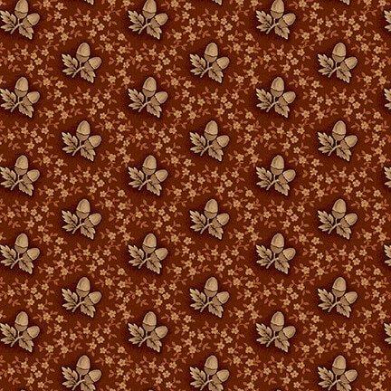 Buttermilk Autumn - Russet Acorns