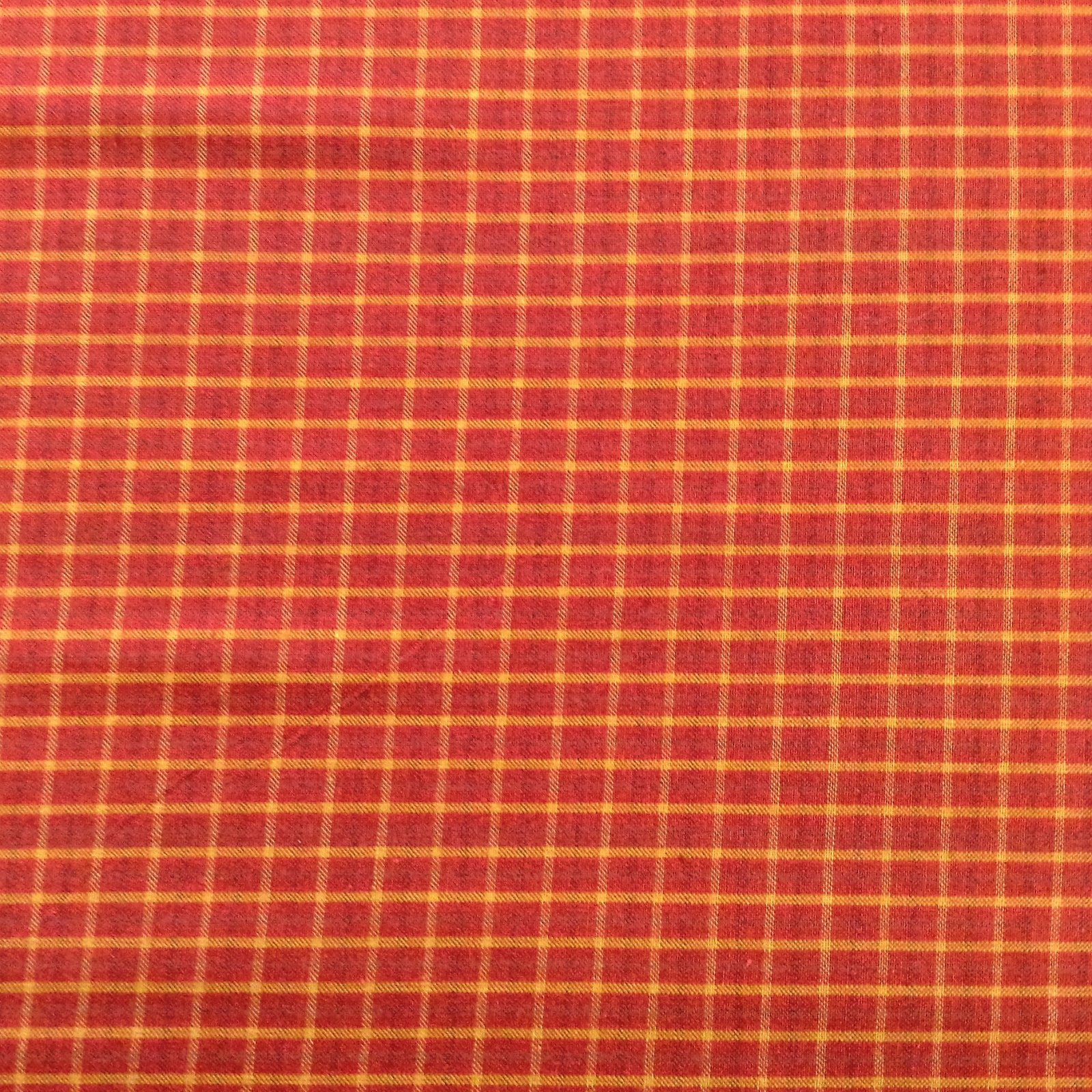 Brushed Cotton  - Red Plaid