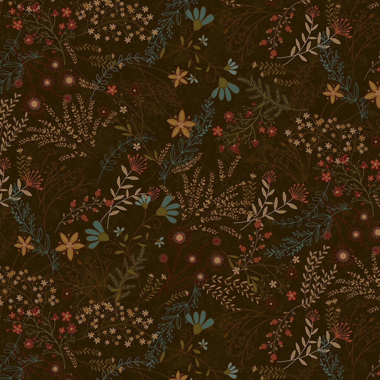 Best of Days - Brown Allover Flower