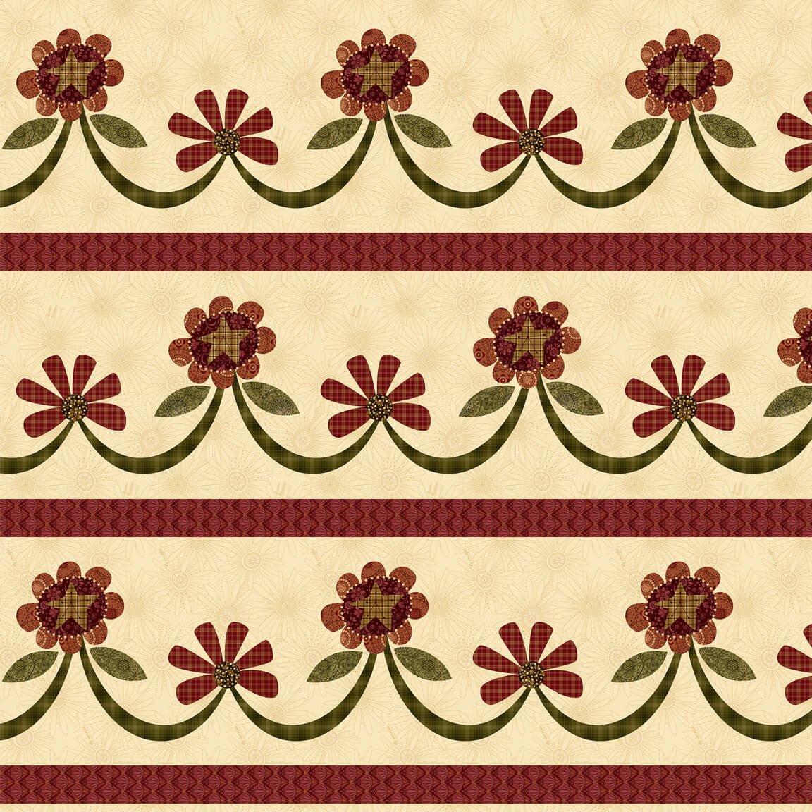 Plant Kindness - Border Swag Stripe