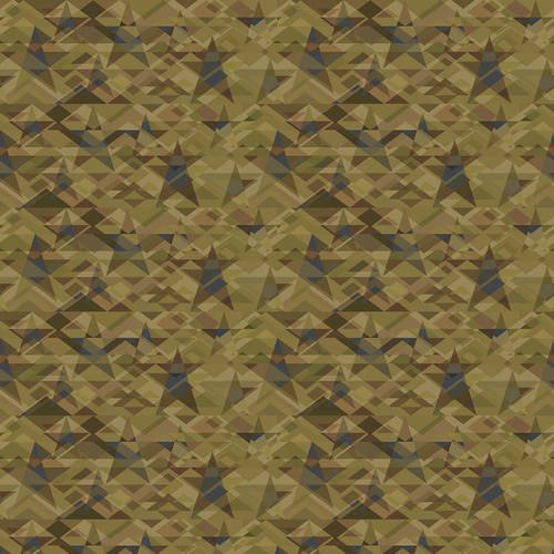 Scrap Happy - Lt Green Star Mosaic
