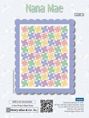 Nana Mae Free Quilt Pattern