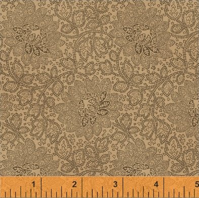Jefferson County -  Rosewater Paisley Floral
