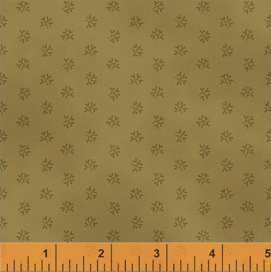 Jefferson County -  Old Gold Coral (1 yard)