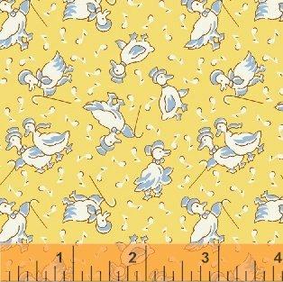 Storybook Playtime - Yellow Musical Ducks (1 1/4 yards)