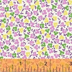 Storybook Playtime - Lilac Colorful Calico (2 3/4 yards)