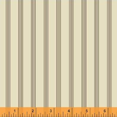 Threads of Time - Cream Multi Stripe