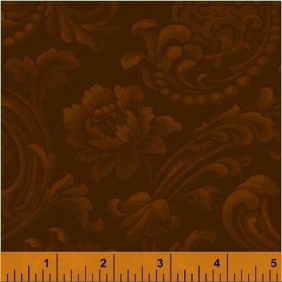 Mary's Blenders - Brown Floral Brocade