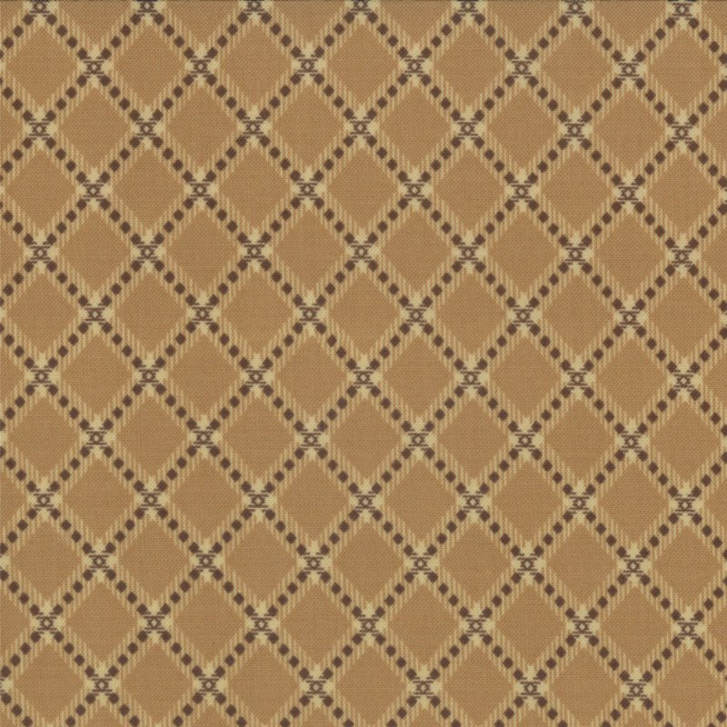 Collection for a Cause - Mill Book Series  Circa 1852  Tan (3/4 yard)