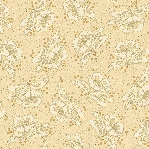 Butter Churn Basics   - Beige Floral