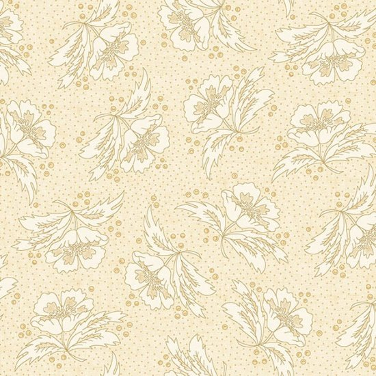 Butter Churn Basics   - Cream Floral