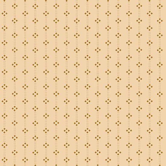 Butter Churn Basics - Cream Diamond Stripe