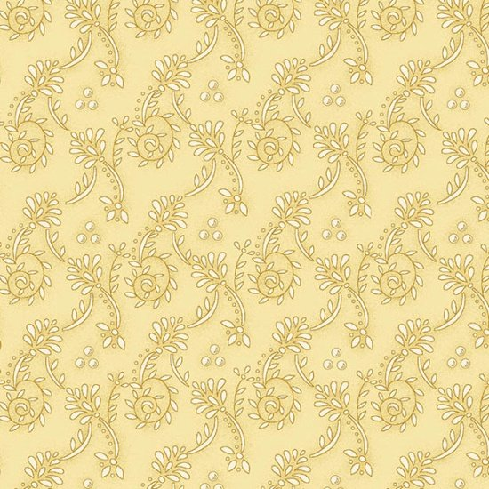 Butter Churn Basics - Tan Wallpaper Scroll