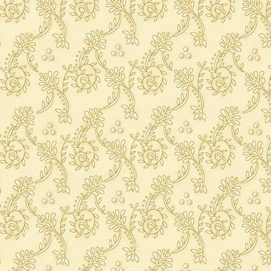 Butter Churn Basics - Cream Wallpaper Scroll