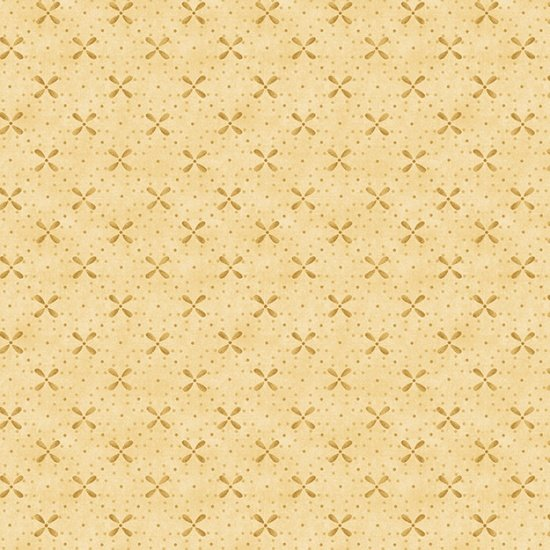 Butter Churn Basics - Cream Crossed Petals