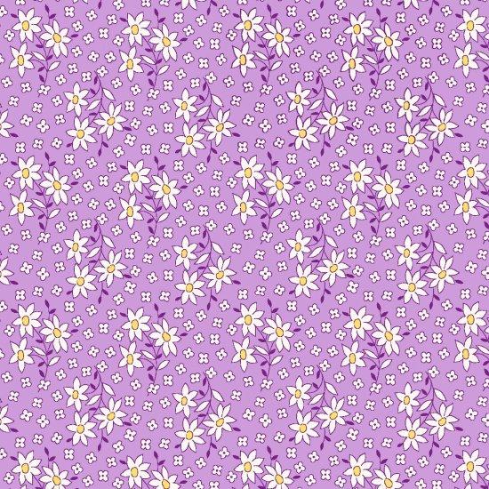 Nana Mae - Lilac Daisies