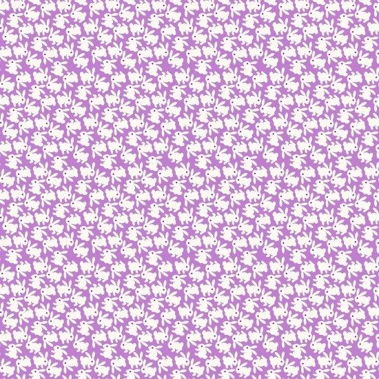 Nana Mae - Lilac Bunnies